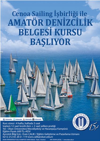 Amatör Denizcilik Belgesi Kursu / İSTANBUL