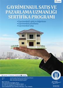 Gayrimenkul Satış ve Pazarlama Sertifika Programı / İSTANBUL