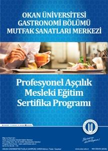 Aşçılık Mesleki Eğitim Sertifika Programı / İSTANBUL