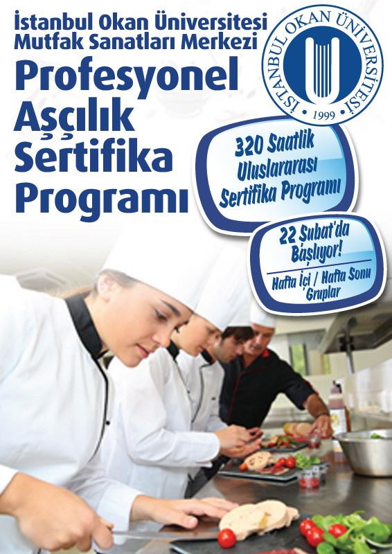 """""""Profesyonel Aşçılık Sertifika Programı"""" / İSTANBUL"""