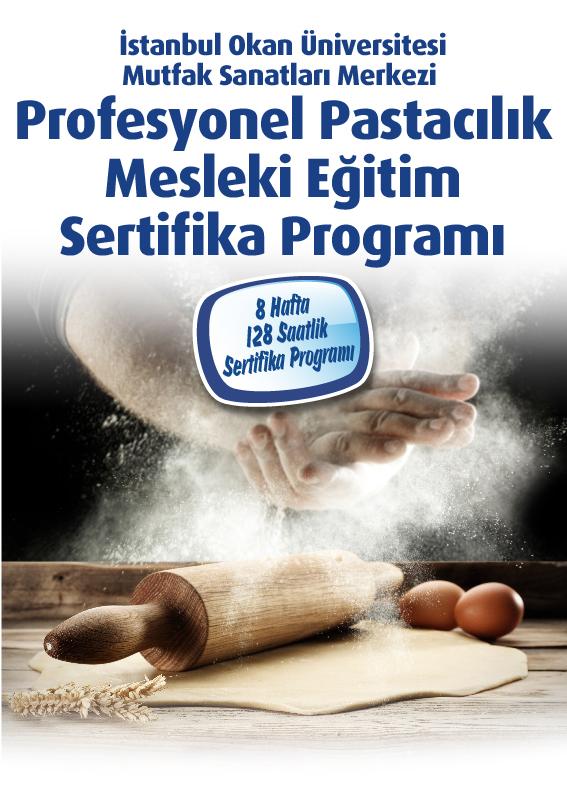 Profesyonel Pastacılık Mesleki Eğitim Sertifika Programı