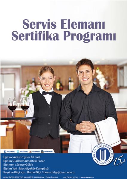 Servis Elemanı Sertifika Programı / İSTANBUL
